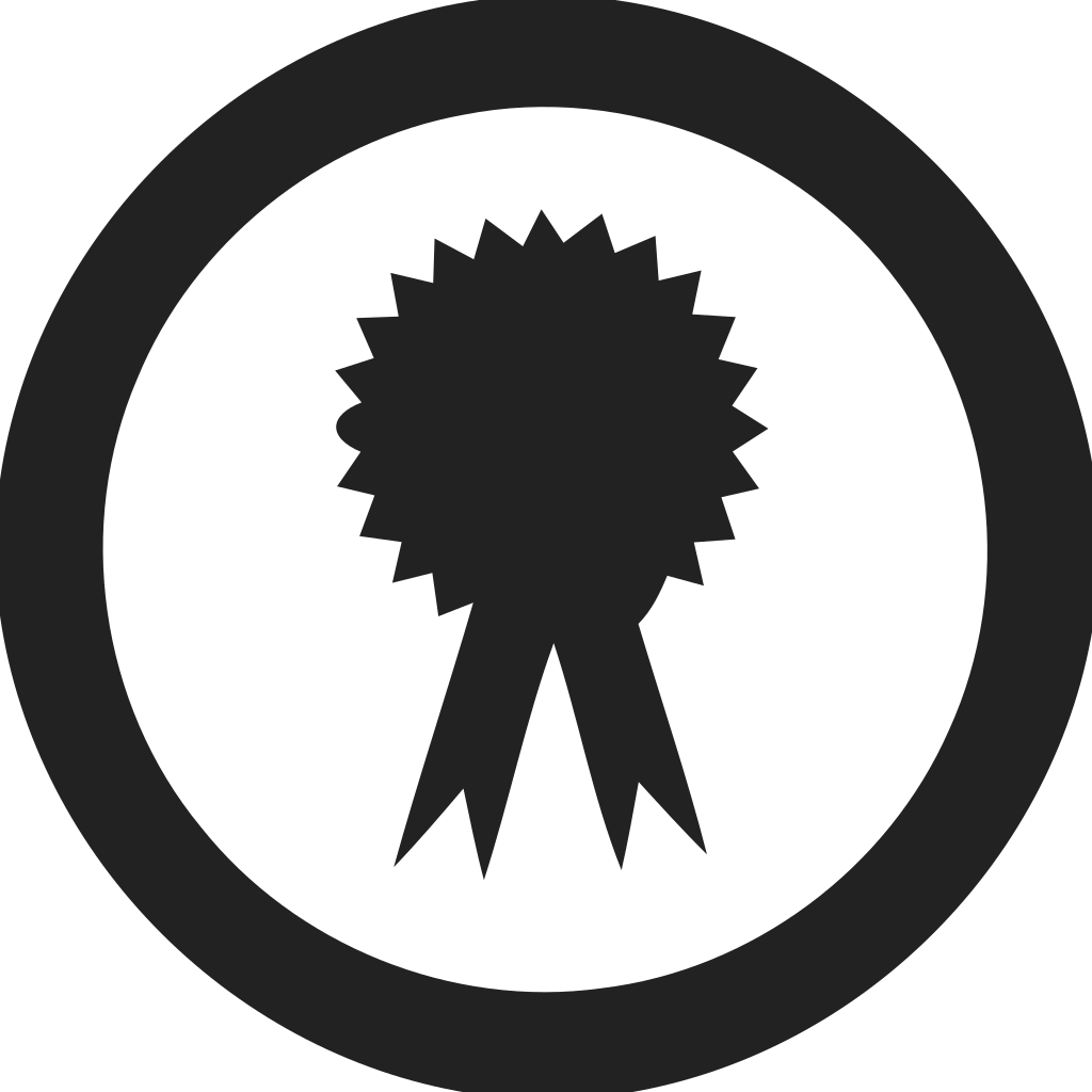 Award Empty Circle Icon