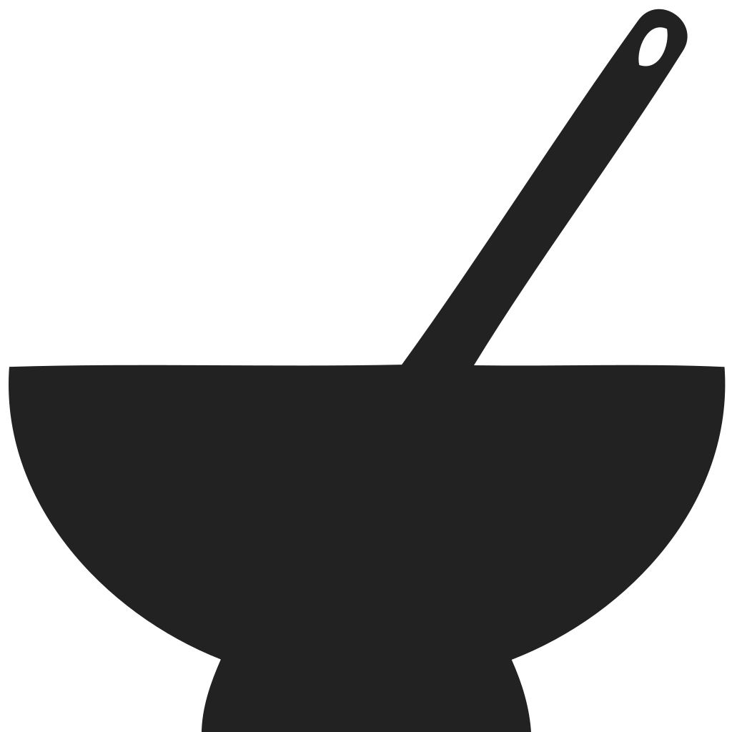 Bowl and spoon Icon