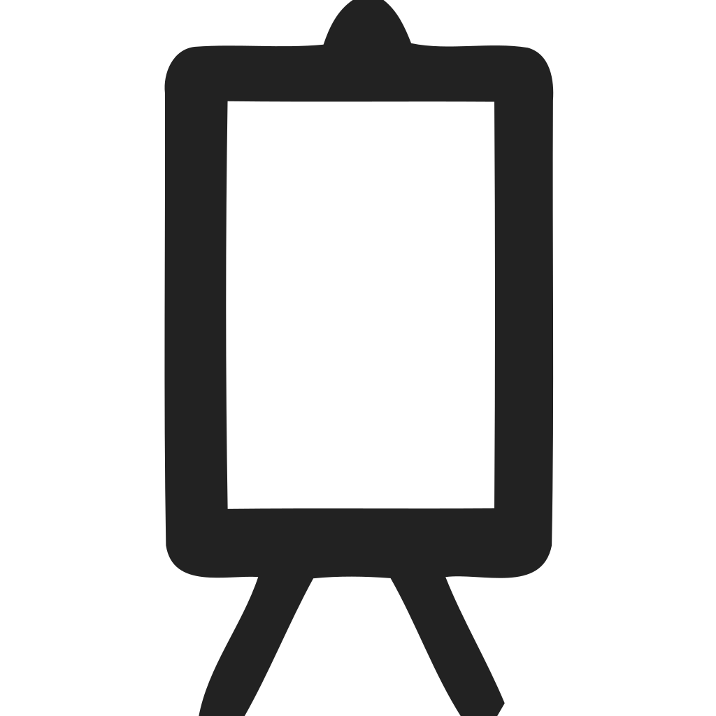 Canvas Partrait Icon