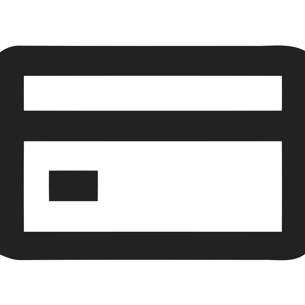 Credit Card With Chip Icon