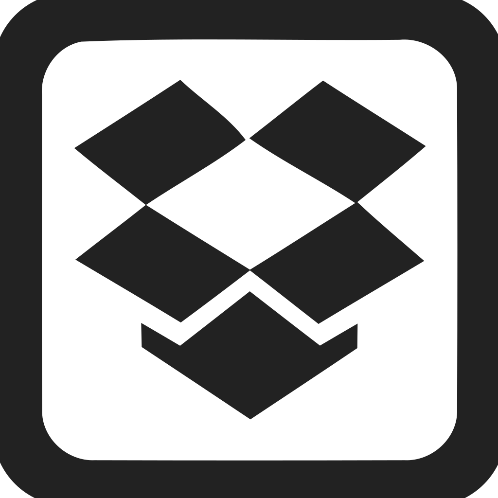 Dropbox Square Empty Icon