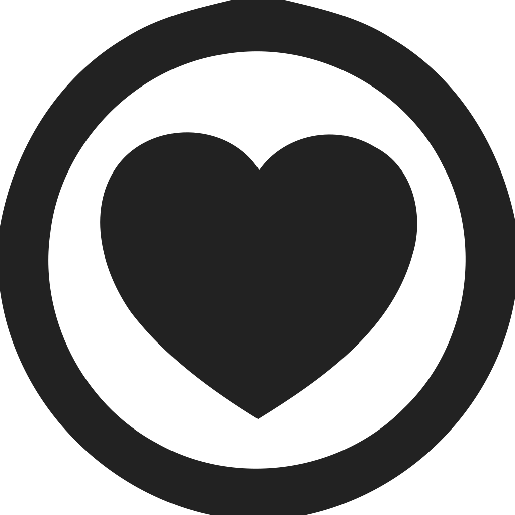 Heart Circle Empty Icon
