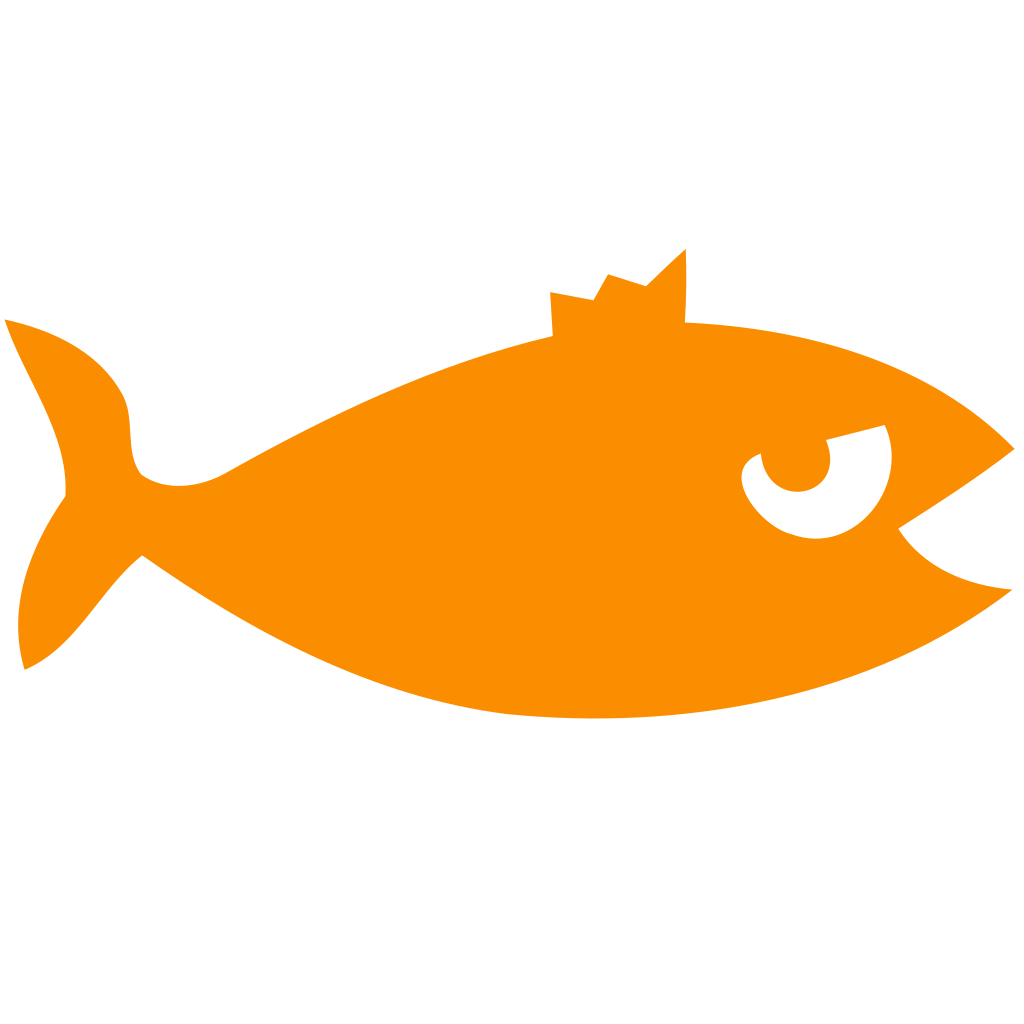 Material Fish Icon