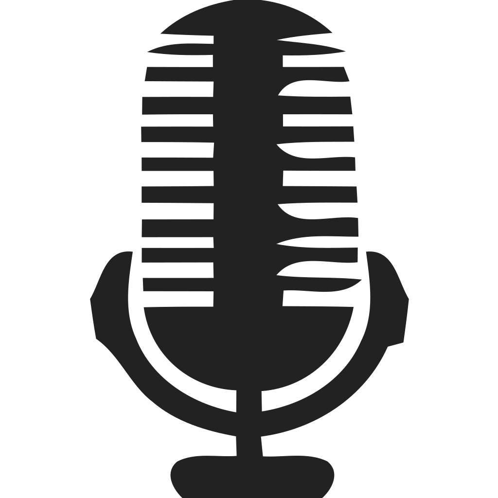 Microphone Vintage Detailed Icon