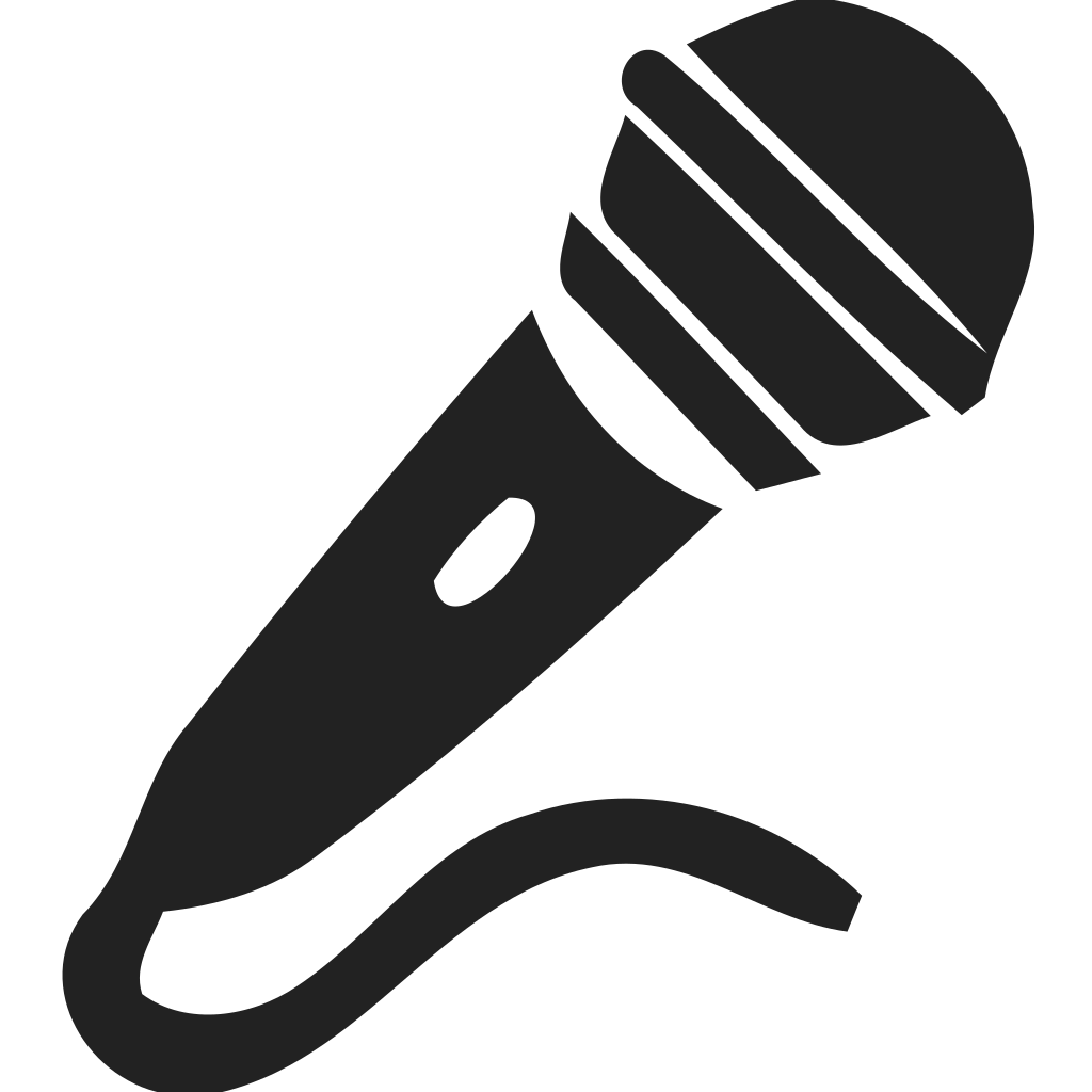 Microphone Vocal Icon