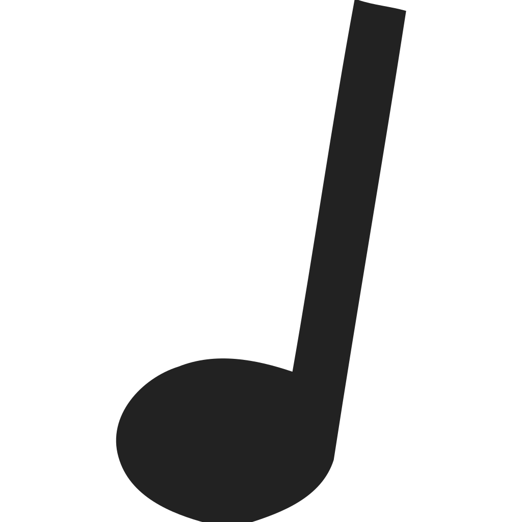 Music Note Crotchet Icon