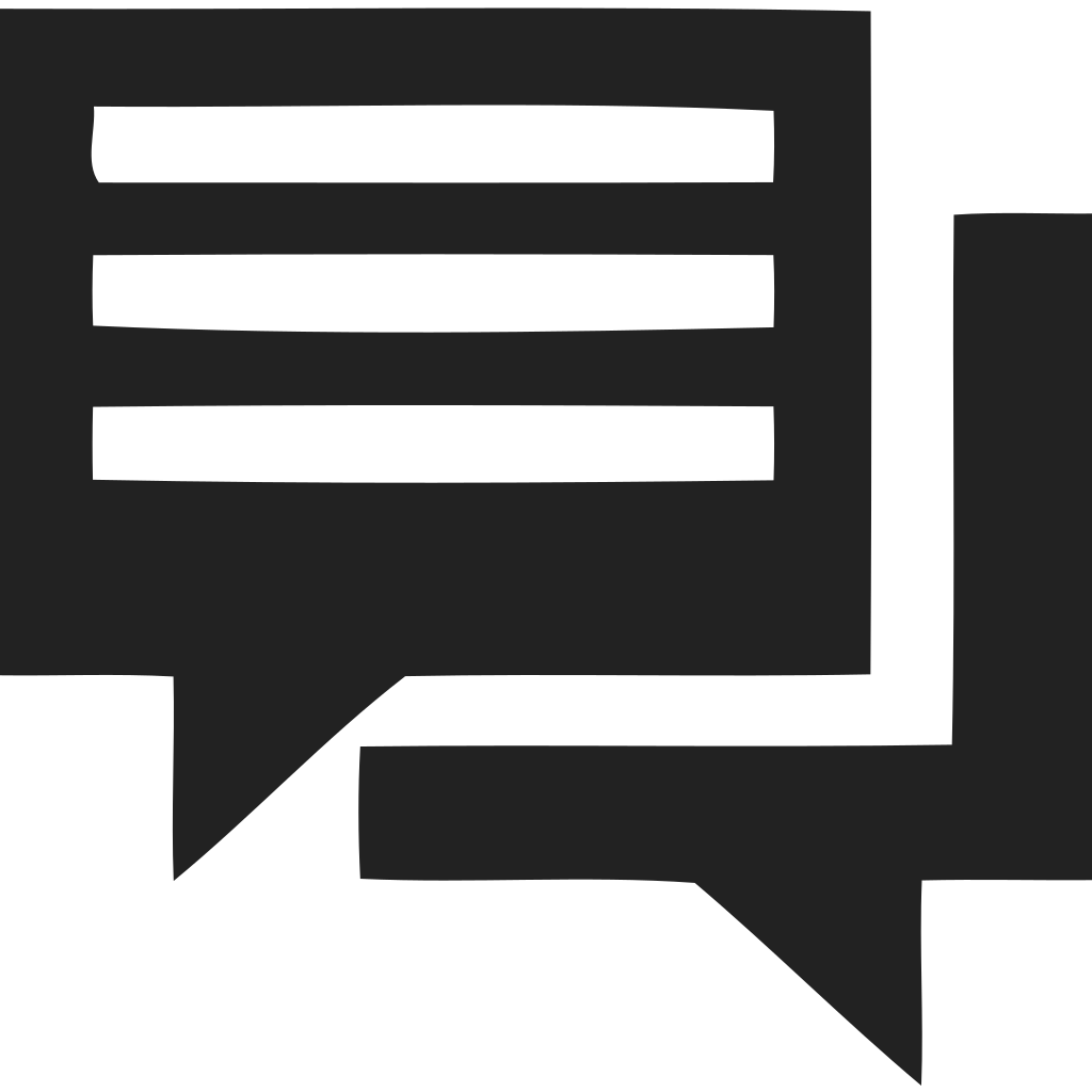 Written chat Icon
