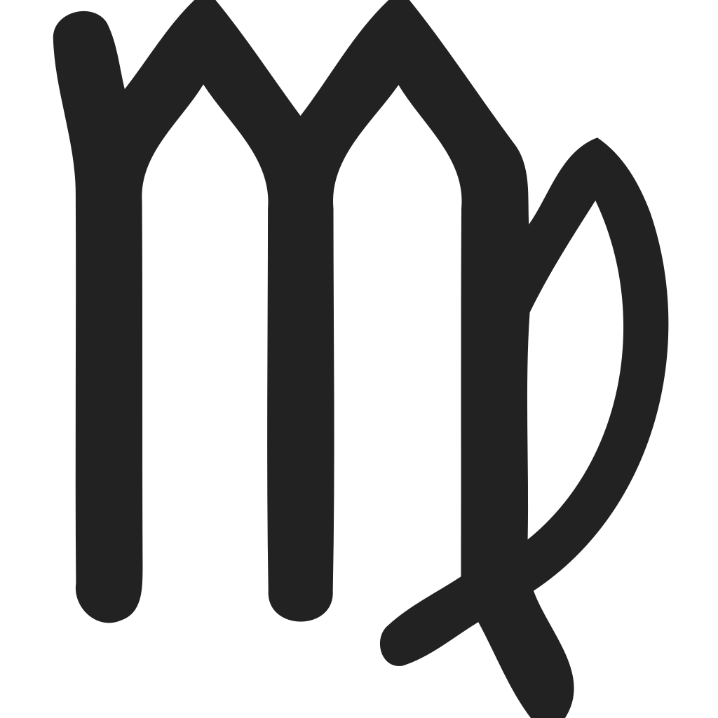 Zodiac virgo Icon